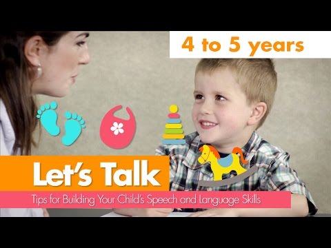 Let's Talk: 4 to 5 Years