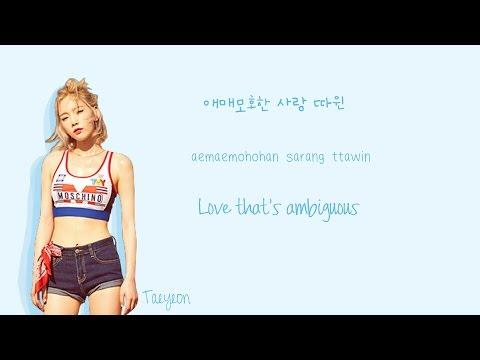 Free Download Taeyeon Ft Hyoyeon - Up And Down Lyrics (han|rom|eng Color Coded) | Soshi Lyrics Mp3 dan Mp4