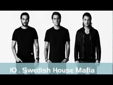 Top 10 Dj's of the World 2011-2012