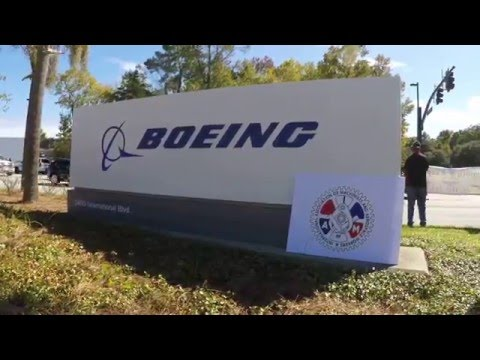 Machinists Union & Boeing In Solidarity.