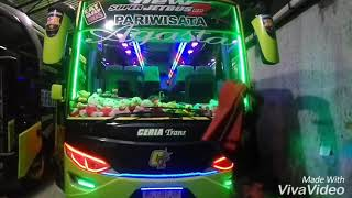 Review Jetbus 2+ Ceria Trans Full Lampu LED RGB