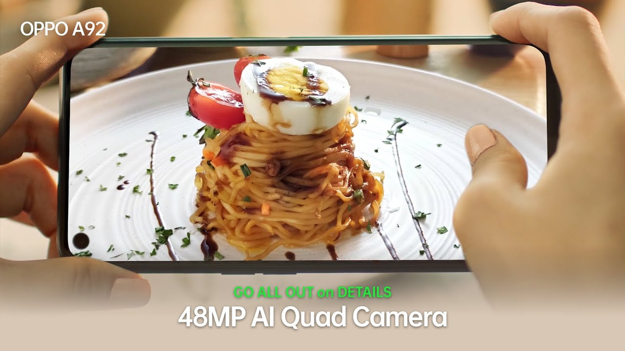 48MP AI Quad Camera - OPPO A92 NOW AVAILABLE