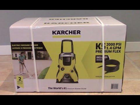 Unboxing The K Archer K5 2000 Psi 1 4 Gpm Premuim Flex Electric Pressure Washer