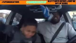Отец показал сыну что такое настоящий хип-хоп!