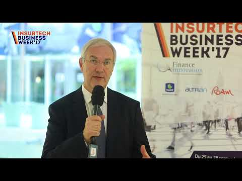 INSURTECH BUSINESS WEEK 17'  Interview de Alain MONTARANT