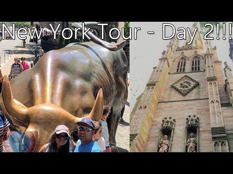 NY Wall Street, Charging Bull & Washington Square Park (2019 Webseries - Part 2/3) | Tamil VLOG