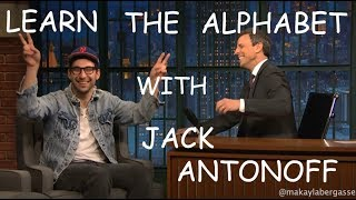 learn the alphabet with jack antonoff