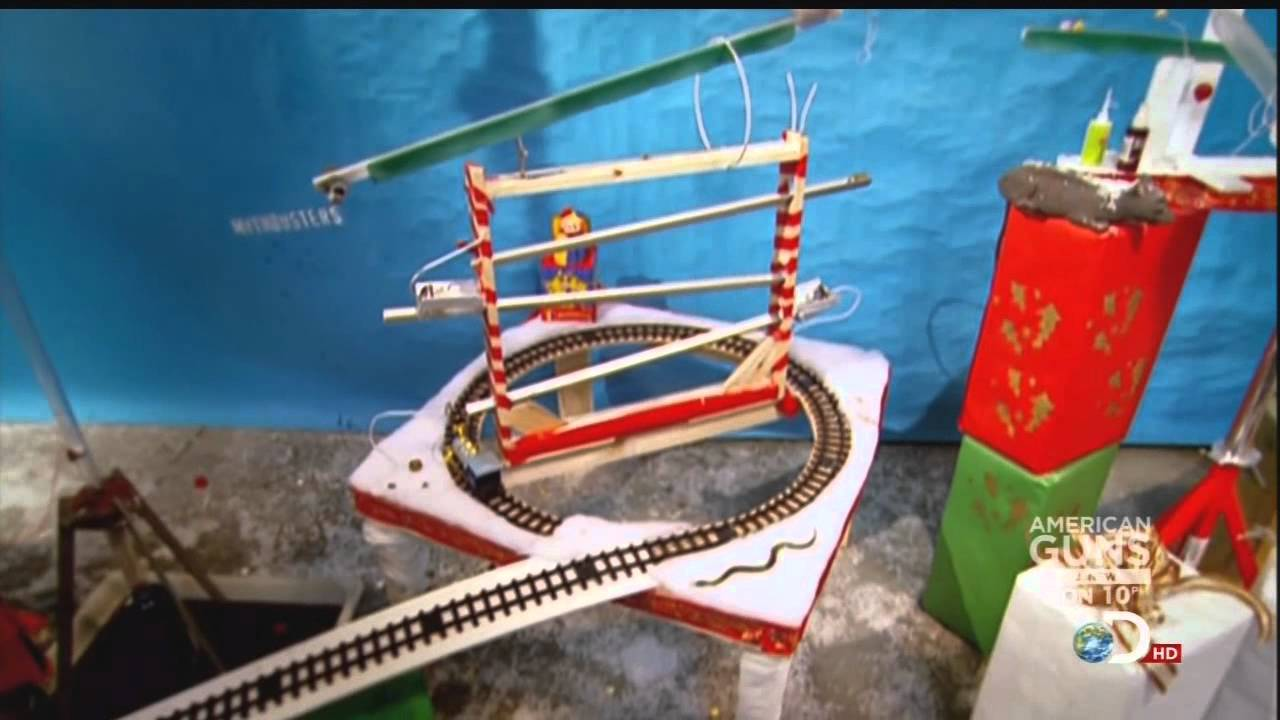 Mythbusters Christmas Special Rube Goldberg Machine BEST QUALITY ...