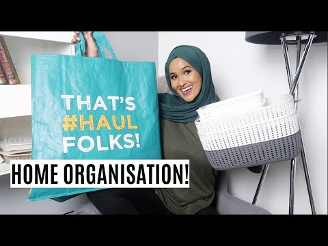 POUNDLAND ORGANISATION HAUL JANUARY 2019| Zeinah Nur
