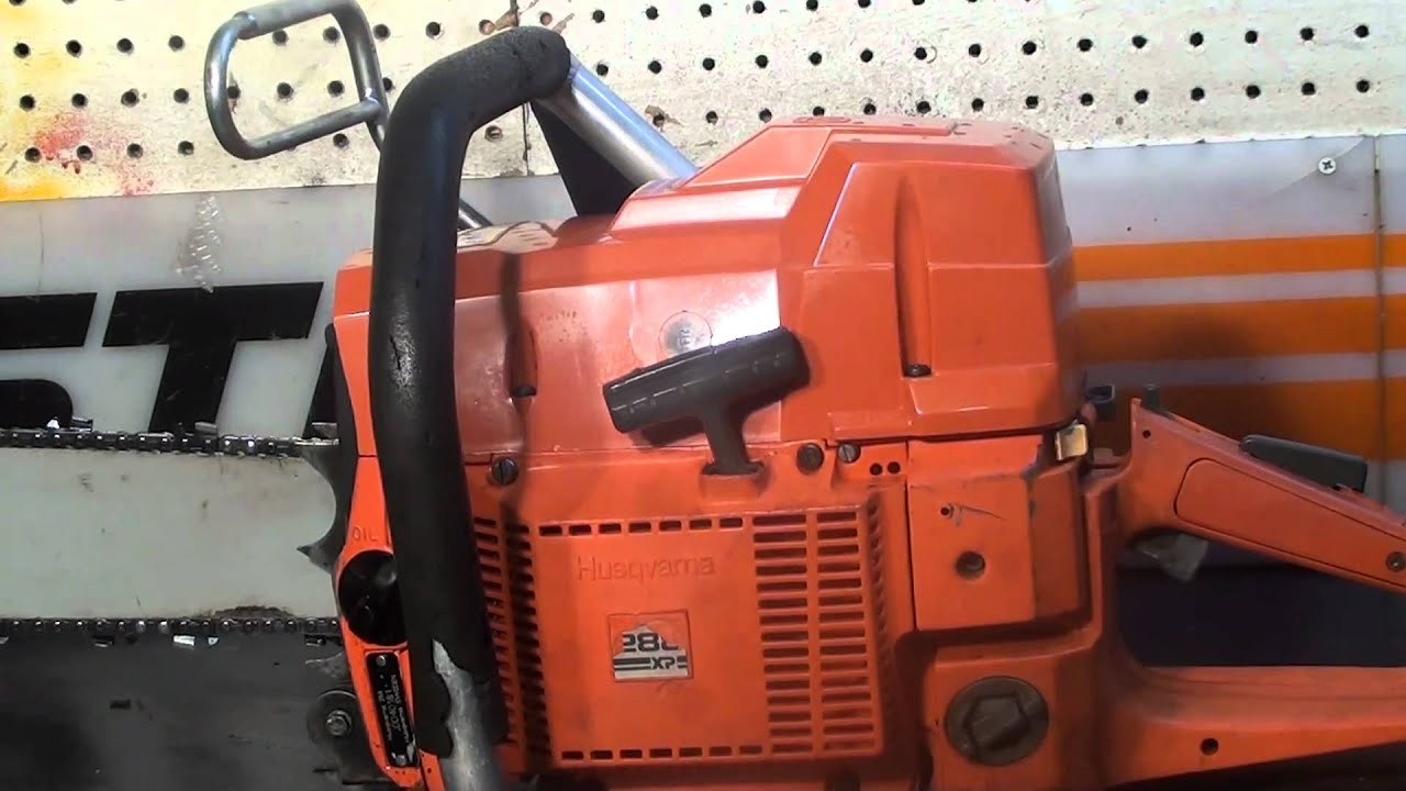 Manual for 288xp Husky Chainsaw