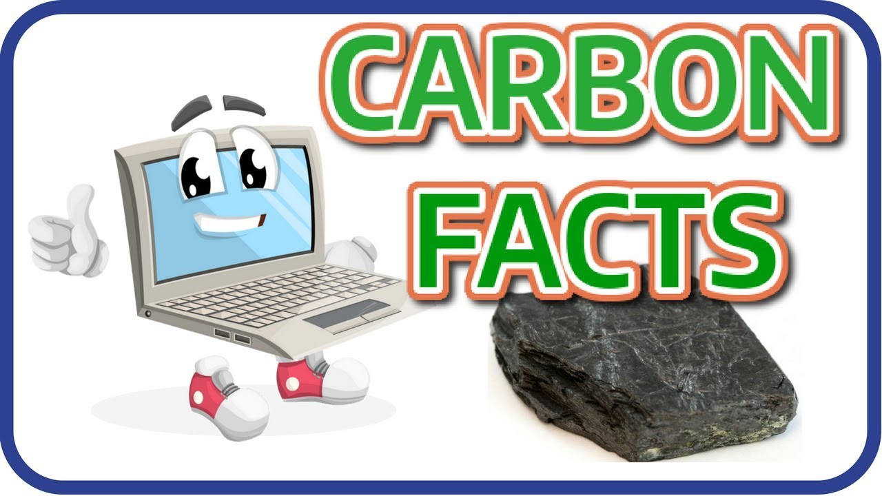 Learn English Carbon Facts | Learning English Science For Kids - YouTube