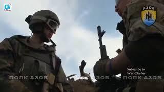 Война России с  Украиной: безумная боевая съемка