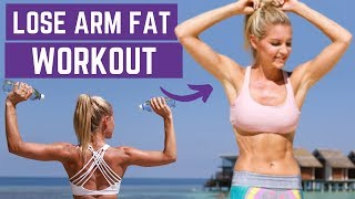 HOW TO LOSE ARM FAT FOR TONED ARMS | Rebecca Louise
