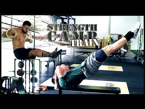 [TRAIN] Body Weight Workout With Muscle Up Tutorial