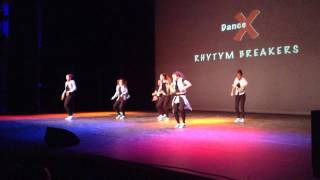 Rhythm Breakers(Dance Improvement)@Dance Experience Hoofddorp,1e plaats