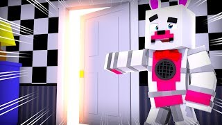 Funtime Foxy's NEW Room ?!   Minecraft FNAF Roleplay