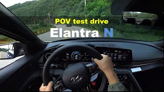 Hyundai N, The all-new Elantra N POV test drive