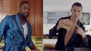 Dwyane Wade vs Cristiano Ronaldo TRICK SHOT FEUD on Social  Media