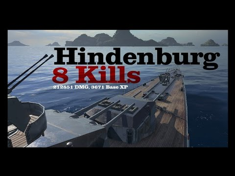 Hindenburg - Jack of all trades  || World of Warships