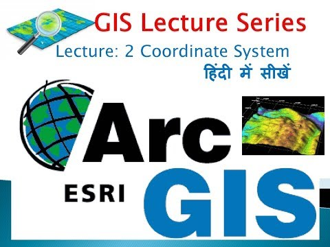 GIS Lecture 2 Coordinate system