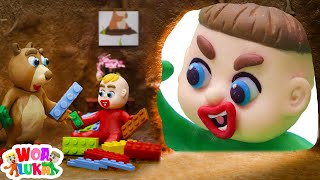 Download lagu Luka Plays Hide and Seek with Animals 🧐 Funny Cartoons Animation For Children