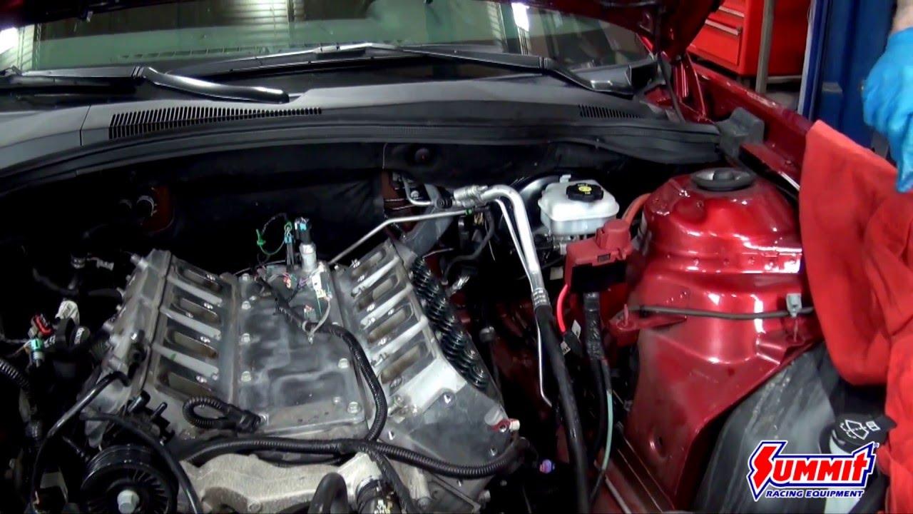 Trick Flow LS Cylinder Head Install on a 2013 Camaro- Summit Racing