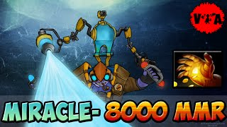 MIDAS | Dota 2 - Miracle- 8000 MMR Plays Party | Tinker | vol #1 - Ranked Match