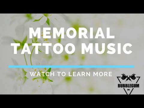 Memorial Tattoo Music  /  Using Cremation Ashes in Tattoo Ink For a Memorial Tattoo.