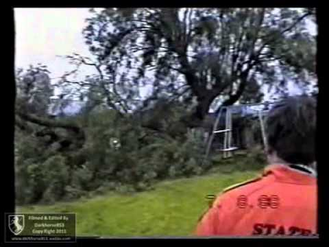 SES SHR Chainsaw Call Out Tree Across Fence @ Clifton Street YOUNG UNIT 07th-August-1998