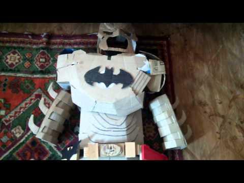 как сделать костюм бэтмана без пепакуры