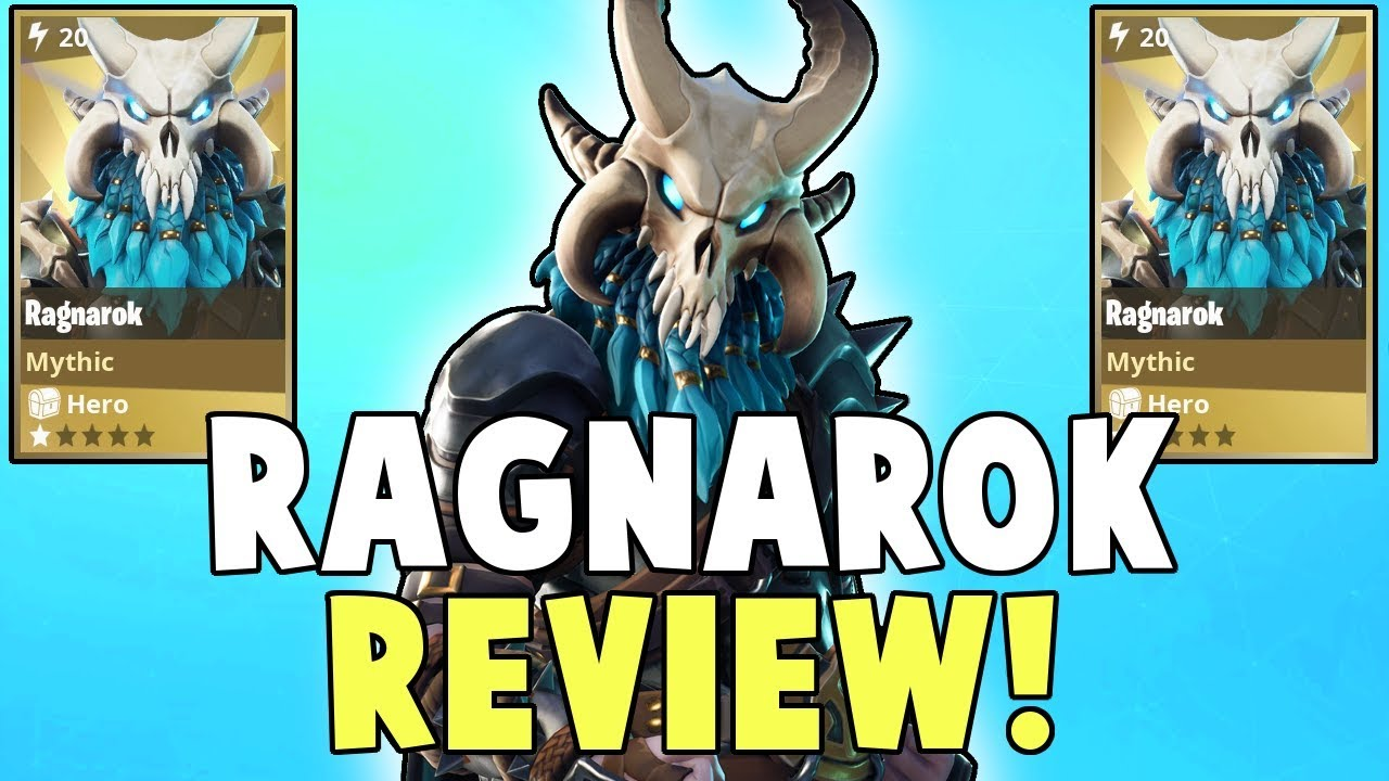 ragnarok review amazing mythic outlander fortnite save the world - fortnite save the world ragnarok