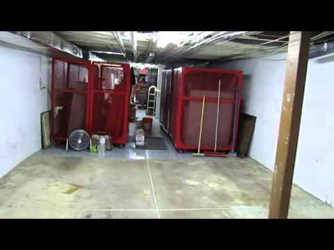 (shane candies) basement floor joints filled with polyurethane caulk. epoxy floor coating