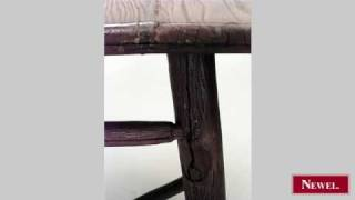 Antique American Rustic Mission Old Hickory End Table With