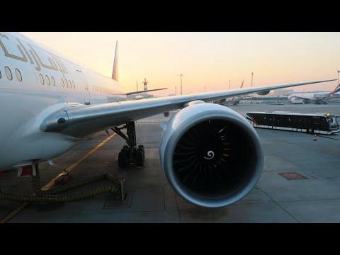 Emirates Boeing 777-300 | Рейс Санкт-Петербург - Дубай