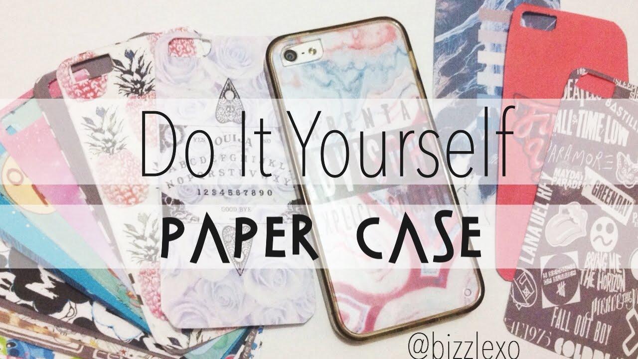 designer fashion 8f6de 33bf9 DIY Paper Case