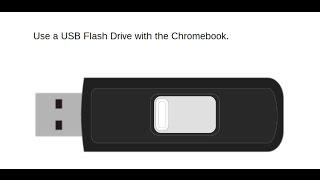 Chromebook Basics: Use a USB Flash Drive with the Chromebook