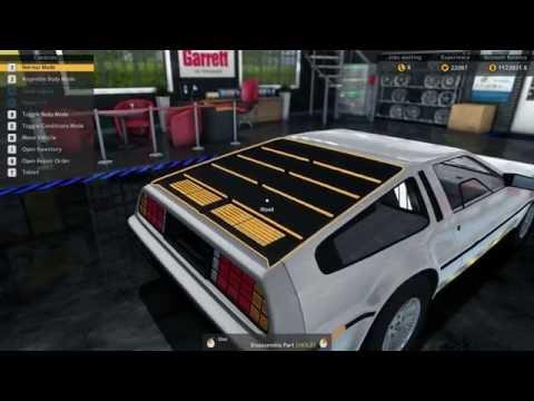 DeLorean DLC Rumbles Into Car Mechanic Simulator   Rock