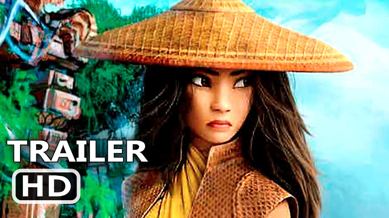 RAYA AND THE LAST DRAGON Trailer (2021) New Disney Movie