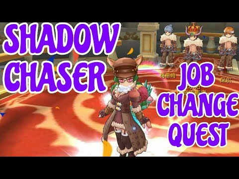 Shadow Chaser Job change (Ragnarok Mobile 3d)