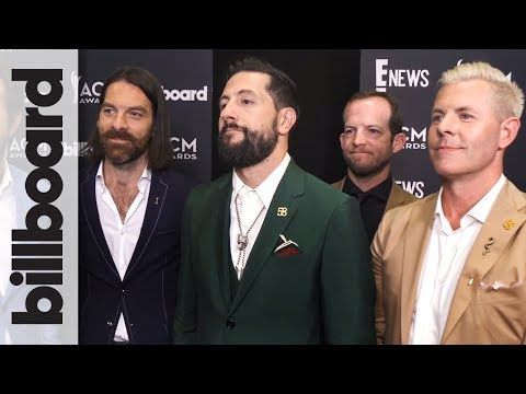 Old Dominion Wins Vocal Group of The Year, Backstage Interview! | ACM 2018
