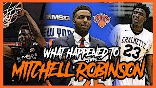 mitchell robinson 9 blocks