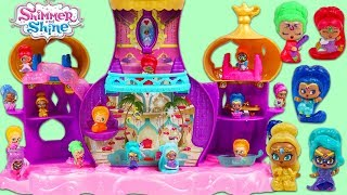 Paw Patrol Visit Shimmer and Shine Genie Palace in Search of Surprise Toys!