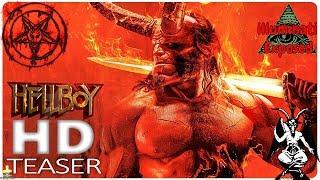 Hellboy 2019 Movie Official Trailer  lluminati Exposed