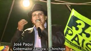 Salvador Quishpe protagoniza actos vergonzosos en Zamora Chinchipe