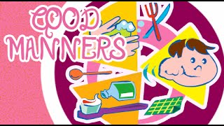 Good Manners For Children in English | Good Habits and Manners for Kids Animation Video