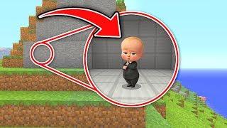 Minecraft : FINDING THE BOSS BABYS SECRET EVIL BASE! (Ps3/Xbox360/PS4/XboxOne/WiiU)