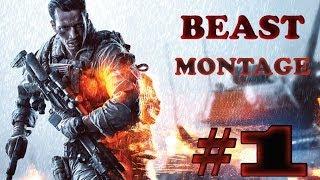 Battlefield 4 MONTAGE Tank,Sniper, C4 so much more!