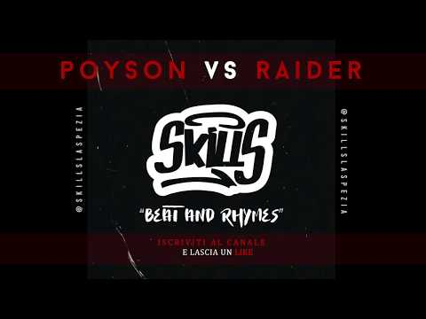 SKILLS Beat and Rhymes - Freestyle Battle 2018 || Durban Poison VS Raider || (Ottavi di finale) from YouTube · Duration:  4 minutes 35 seconds