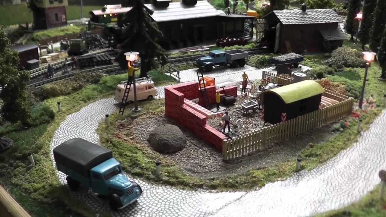 Modellbahn Spur TT Film1 - YouTube