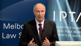 'Rethinking the Role of Intellectual Property' presented by Dr Francis Gurry